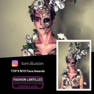 top 5 NYX Face Awards Belgique