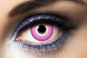 Lentilles Fantaisie Purple Out Violette 1 an