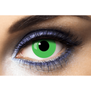 Lentilles Fantaisie 1 an - Green Out -