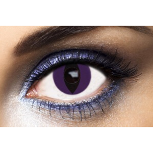 Lentilles Fantaisie Fashion Lentilles Purple Cat - 1 an