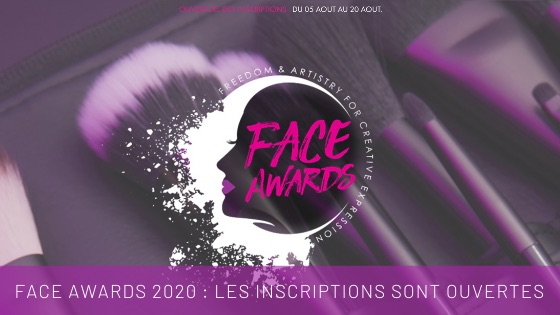 Inscriptions Nyx Face Awards 2020