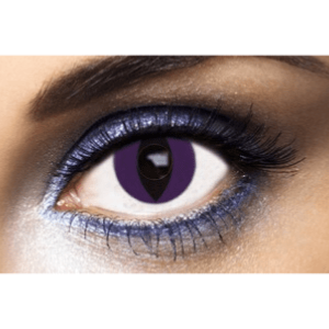 Lentilles Oeil de Chat 1 an - Purple Cat -
