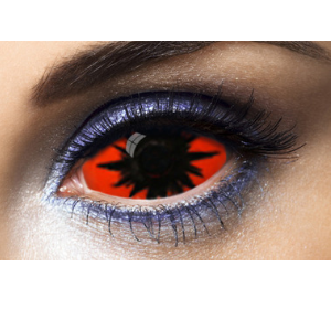 Lentilles 22mm Sclera Omega Red 1 an