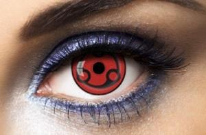Lentilles Sharingan Madara Eternal 1 an - SH-M6 -