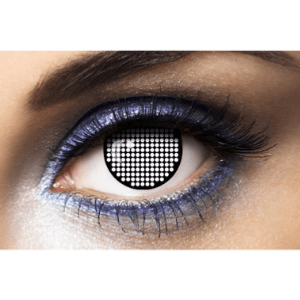 Lentilles Halloween 1 an - Screen Black -