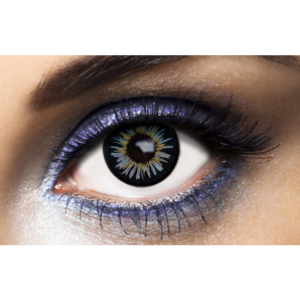 Lentilles De Couleur bleue New York Blue - 1 an