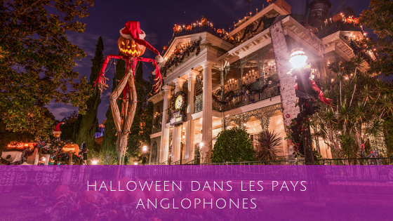 Halloween dans le spays anglophone