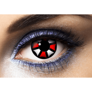 Lentilles Halloween 1 an - Umbrella Corporation -