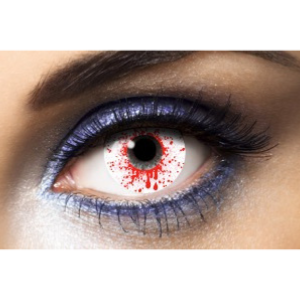 Lentilles Fantaisie Fashion Lentilles Splash Blood - 1 an