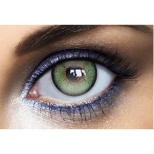 Lentilles De Couleur Diamonds Green Tea Natural 1 An