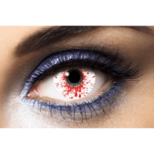 Lentilles Zombie 1 an - Splash Blood -