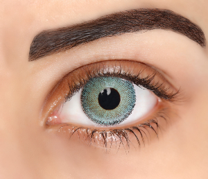 Lentilles De Couleur Lemon Green Natural Dream 1 an