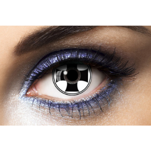 Lentilles Fantaisie Black Cross Fashion Lentilles 1 an