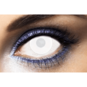 Lentilles Blanches Aveugle 1 an - New White -