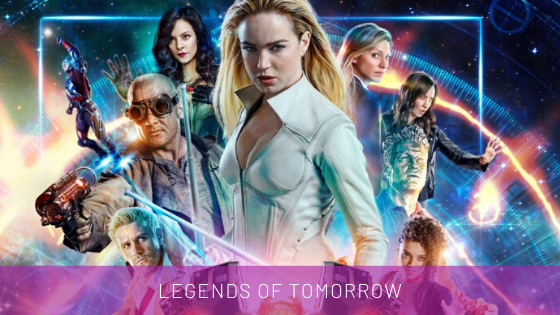 legends of tomorrow déguisement personnages série