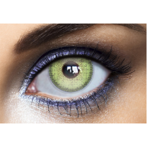 Lentilles de Couleur Natural Dream Lemon Green - 1 an