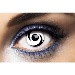 Lentilles Blanches 1 an - White Swirl -