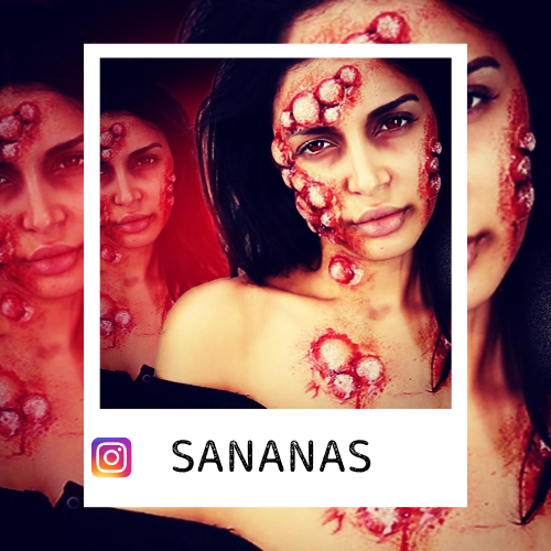 makeup sananas infected