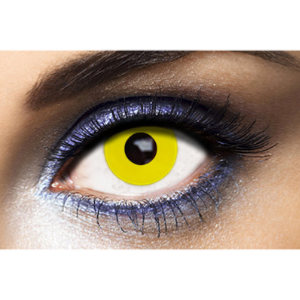 Lentilles Fantaisie Fashion Lentilles Yellow Out - 1 an