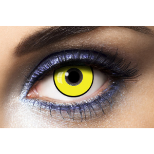 Lentilles Fantaisie Jaunes Infected Fashion Lentilles - 1 an