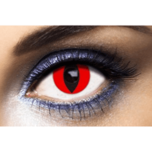 Lentilles Oeil de Chat 1 an - Red Cat -