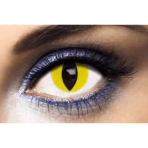 Lentilles Yeux de Chat 1 an - Yellow Cat -