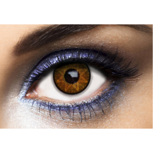 Lentilles De Couleur Los Angeles Star Marron Brown 1 mois