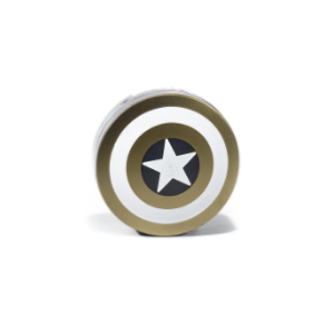 Kit de Voyage Complet Avengers Captain America Or
