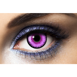 Lentilles Fantaisie Violet Lunatic Purple 1 an