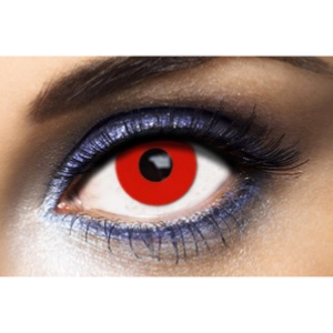 Lentilles Fantaisie Fashion Lentilles Red Out - 1 an