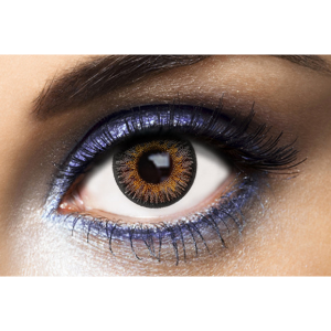 Lentilles de Couleur Grise London Gray - 1 an