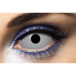 Lentilles Sclera grises 22 mm All Gray - 1 an