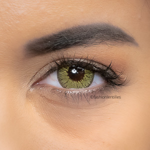 Lentilles de Couleur Or Jewel Gold - 1 an