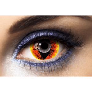 Lentilles Chat Mini Sclera 1 an - Anaconda -