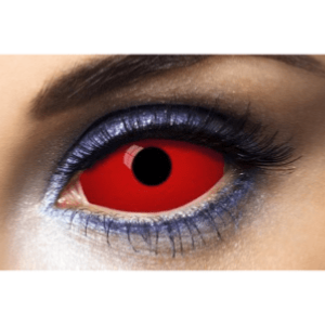 Lentilles Sclera Rouges 1 an - All Red -