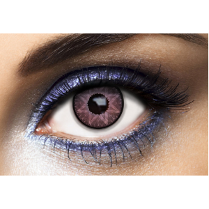 Lentilles De Couleur Los Angeles Star Purple Violet 1 an