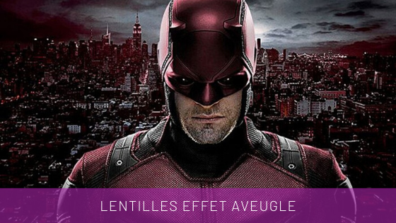 lentilles de contact daredevil