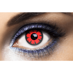 Lentilles Rouges 1 an - Cyber Red -