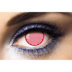 Lentilles Halloween 1 an - Screen Red - 1 an