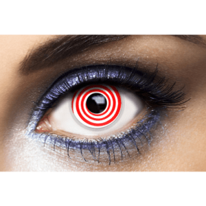 Lentilles Rouges 1 an - Psycho Red -