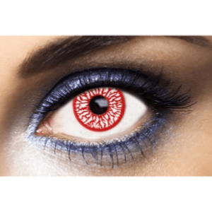 Lentilles Halloween 1 an - Blood Shot -