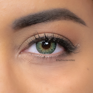 Lentilles de Couleur London Green - 1 an