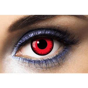 Lentilles Rouges 1 an - Lunatic Red -